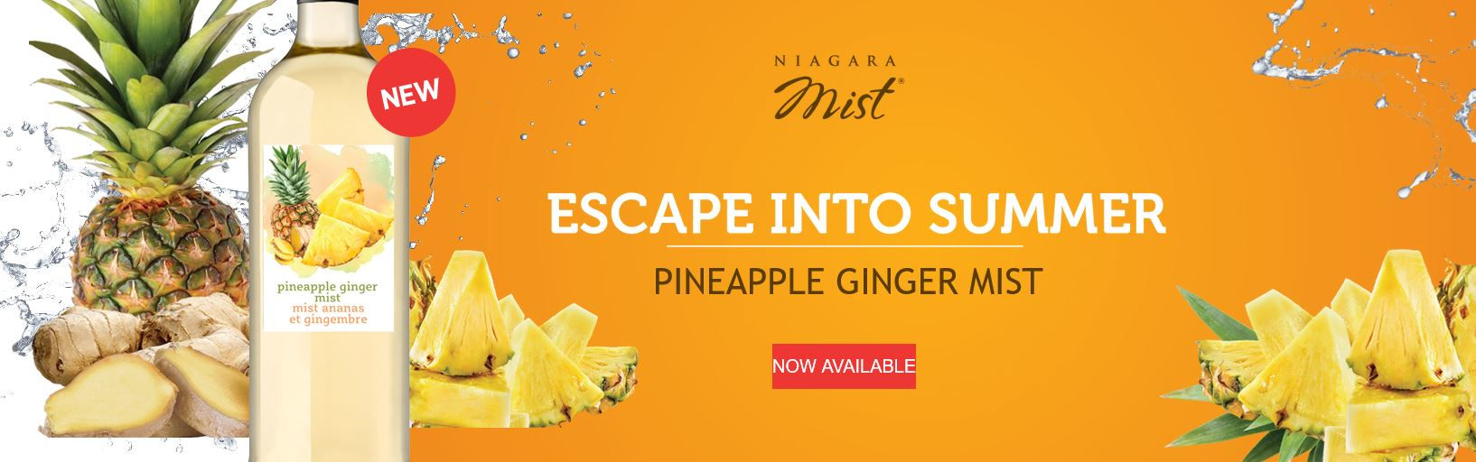 Pinapple Giner Mist