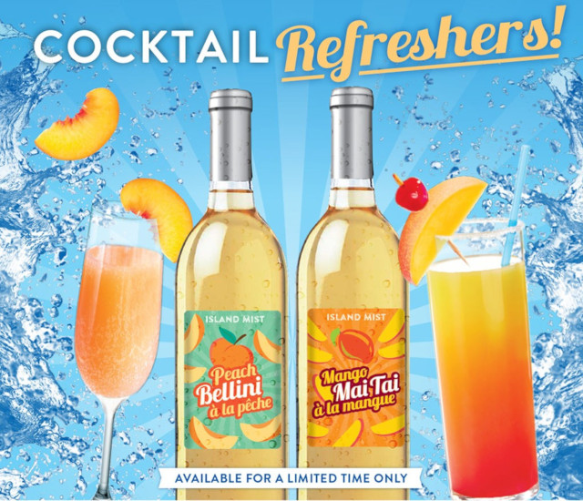 Island Mist Cocktail Refreshers