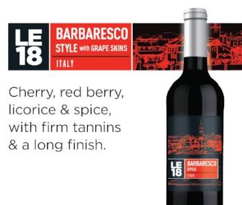 LE18 - Barbaresco Style