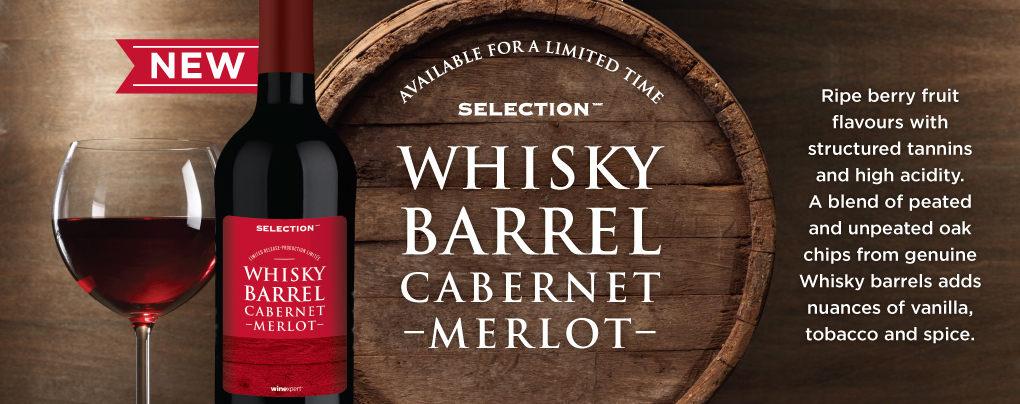 Whisky Barrel Cab Merlot