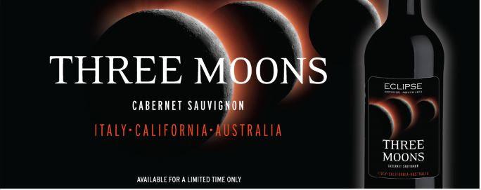 Eclipse Three Moons