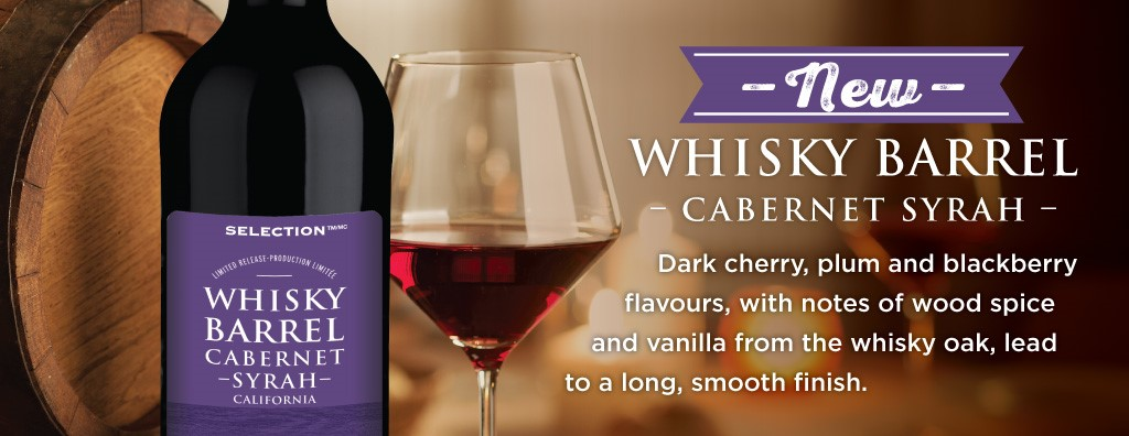 Whisky Barrel Cabernet Syrah